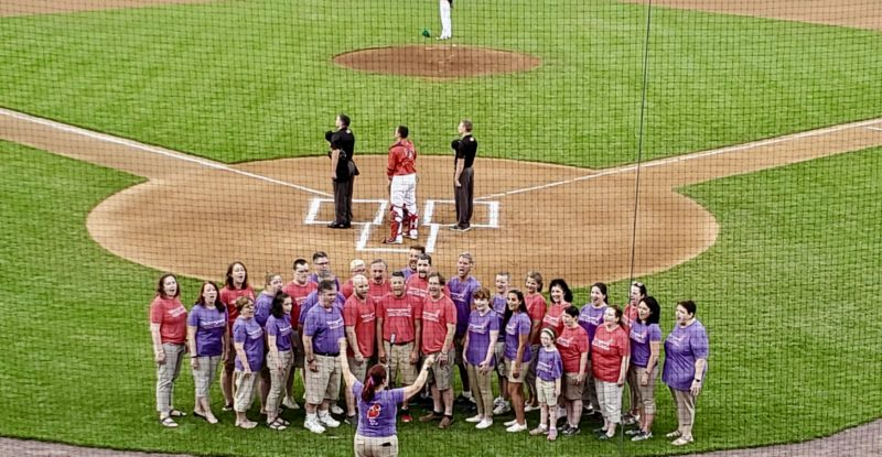 Voices of Hope: Lowell Spinners National Anthem